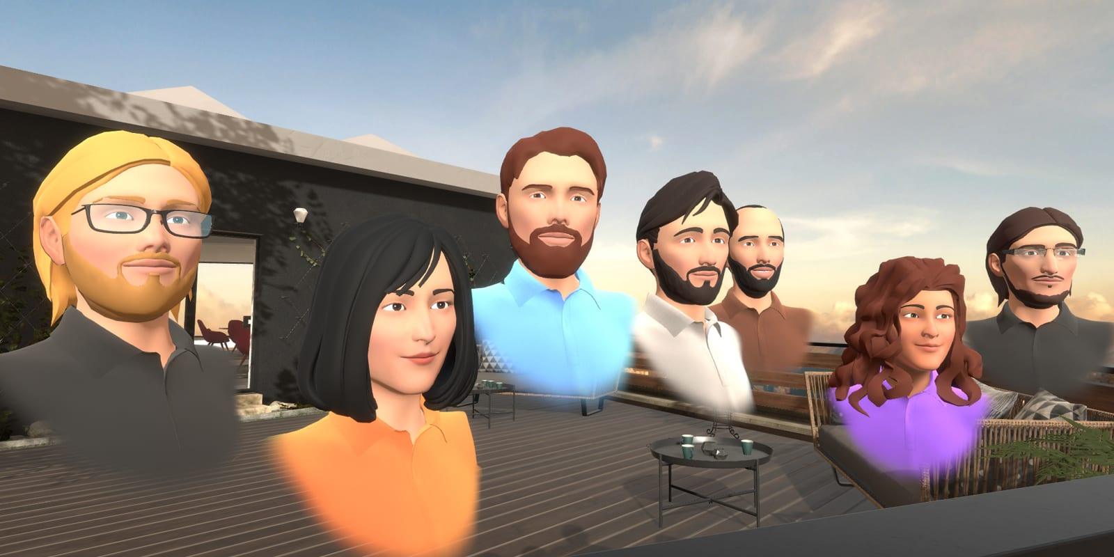 MeetinVR avatars 2019