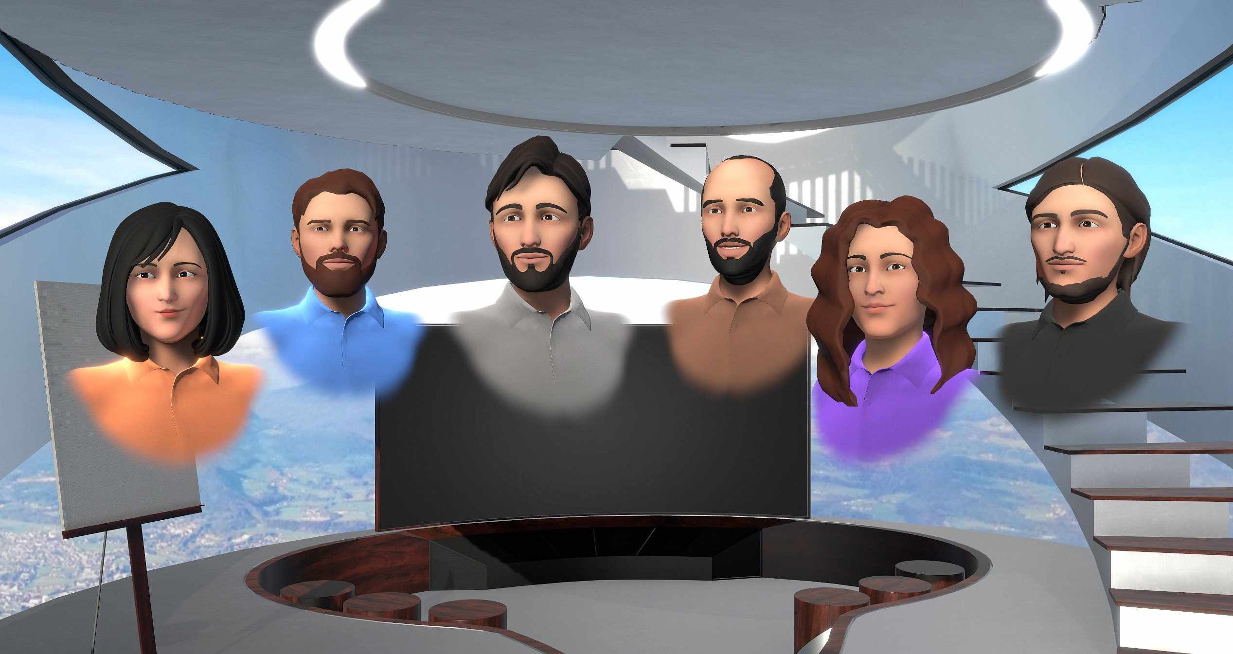 meetinvr Wolf 3D VR avatar virtual 2020