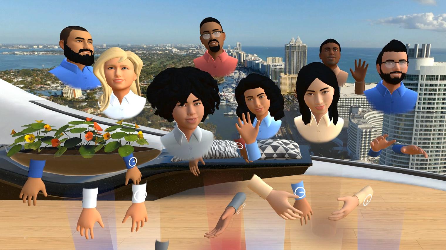 VR avatar