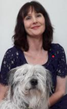 Kathryn Owler and dog Pania